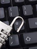 De veiligheid van Internet stock foto