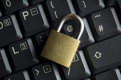 De Veiligheid van Internet en van de Computer Stock Foto
