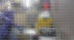 De veiligheidsbril wordt vervaardigd hoofdzakelijk als brand - vertrager stock afbeeldingen