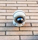 De veiligheidscamera's zijn overal Stock Foto