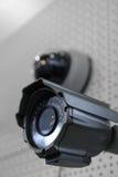 De veiligheidscamera van kabeltelevisie. Stock Fotografie