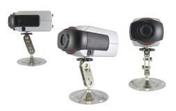 De veiligheidscamera van kabeltelevisie Royalty-vrije Stock Afbeeldingen