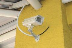 De veiligheidscamera van kabeltelevisie Stock Afbeelding