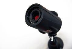 De veiligheidscamera van kabeltelevisie. royalty-vrije stock afbeeldingen