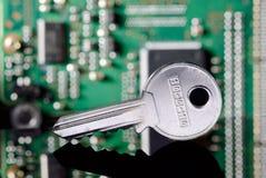 De veiligheidsconcept van de computer Stock Afbeelding