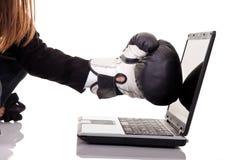 De veiligheidsconcept van Internet Stock Foto's
