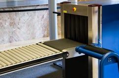 De veiligheidsmachine van de röntgenstraal royalty-vrije stock afbeeldingen