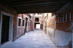 De Venecia un callejón detrás Foto de archivo