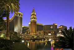 De Venetiaan, Las Vegas Stock Foto