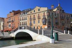 De Venetiaanse brug, Italië Stock Afbeelding