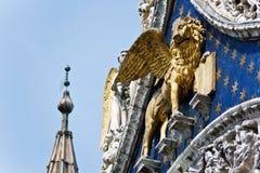 De Venetiaanse leeuw Royalty-vrije Stock Foto's