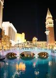 De Venetiaanse Toevlucht van het Casinohotel Stock Foto's