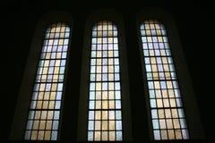 De vensters van Chruch royalty-vrije stock afbeelding