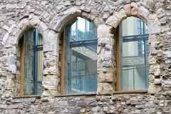 De vensters van de boog Stock Afbeeldingen