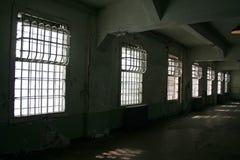De Vensters van de gevangenis royalty-vrije stock afbeelding