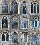 De vensters van de kerk Royalty-vrije Stock Afbeeldingen