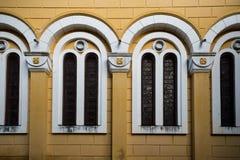 De Vensters van de kerk Royalty-vrije Stock Fotografie