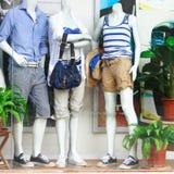 De vensters van de winkel Stock Fotografie
