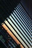 De vensters van een wolkenkrabber Royalty-vrije Stock Afbeelding