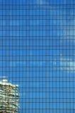 De vensters van het bureau royalty-vrije stock afbeelding