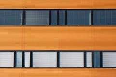 De vensters van het bureau Stock Fotografie