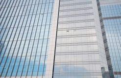 De vensters van het bureau Stock Foto