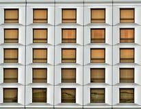 De vensters van het bureau Royalty-vrije Stock Foto's