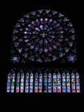 De vensters van het gebrandschilderd glas Royalty-vrije Stock Foto