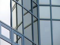 De vensters van het glas Stock Foto