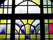 De vensters van het het biermuseum van Tsing-Tao stock afbeeldingen