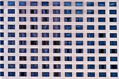De vensters van het hotel royalty-vrije stock foto