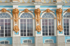 De Vensters van het paleis Royalty-vrije Stock Afbeelding