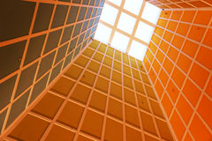 De vensters van het plafond Stock Fotografie