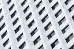 De vensters van high-rise de bouw Stock Foto's