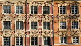 De Vensters van Lille Stock Afbeelding