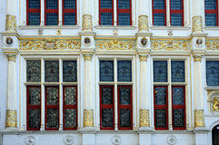 De vensters van Oudegriffie Stock Foto
