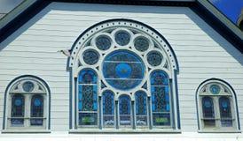 De Vensters van Stainglass Stock Afbeelding