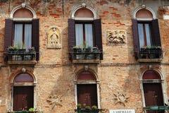 De venstersontwerpen Royalty-vrije Stock Afbeelding