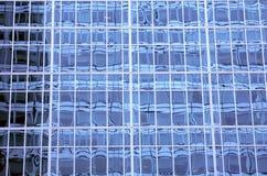 De vensterspatroon van de wolkenkrabber royalty-vrije stock afbeeldingen