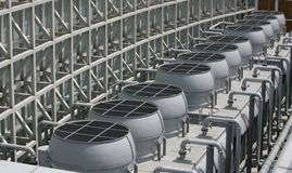 De ventilatie van het systeem Stock Foto