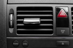 De ventilatiesysteem van de auto met verscheidene knopen Royalty-vrije Stock Fotografie