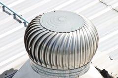 De ventilator van de dakuitlaat Stock Foto's