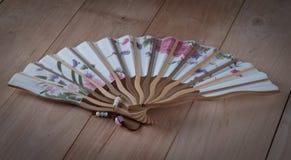 De ventilator van de hand Royalty-vrije Stock Afbeelding