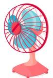 De ventilator van de lijst Stock Afbeeldingen