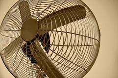 De ventilator van het chroom royalty-vrije stock afbeelding
