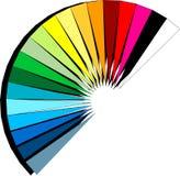 De ventilator van het spectrum Royalty-vrije Stock Fotografie