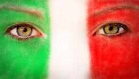 De ventilator van Italië Royalty-vrije Stock Foto's