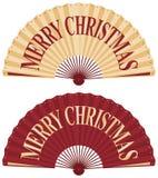 De ventilator van Kerstmis Royalty-vrije Illustratie