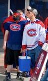 De ventilator van Montreal Canadezen Stock Foto