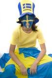 De Ventilator van Zweden Royalty-vrije Stock Foto's